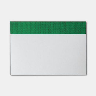Green Stockinette Post-it® Notes