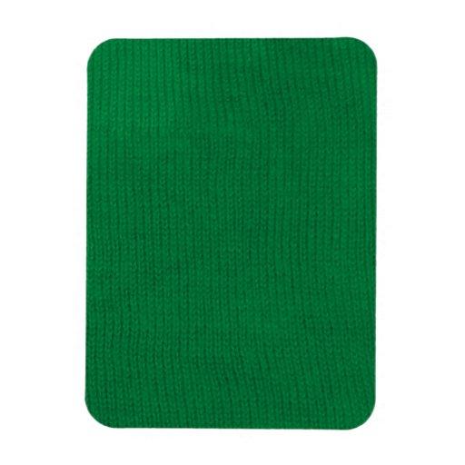 Green Stockinette Premium Magnet
