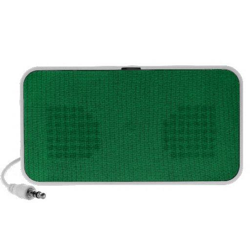 Green Stockinette Speakers