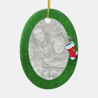 Green Stocking Ornament
