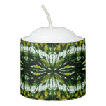 Green Stone Jewel Pattern Votive Candle