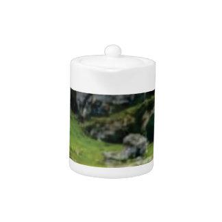 green stone of wonder teapot