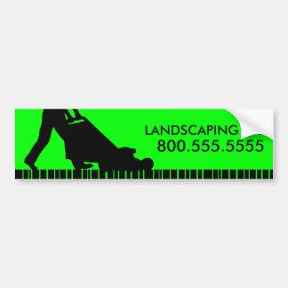 green streak landscaping llc bumper sticker