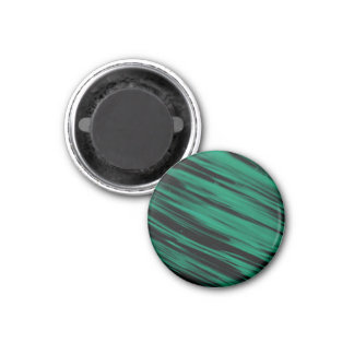 Green Streaks Fridge Magnets
