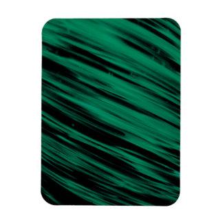 Green Streaks Vinyl Magnet