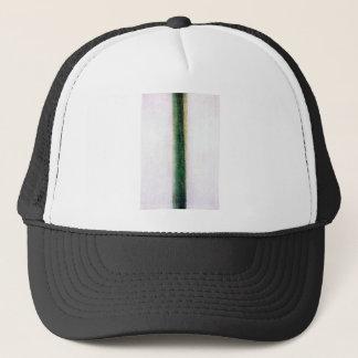 Green Stripe (Color Painting) by Olga Rozanova Trucker Hat