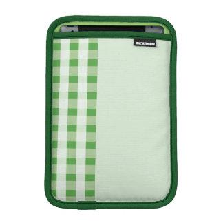 green stripe pattern ipad mini sleeve