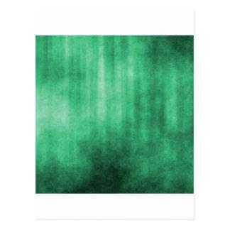 Green Striped Grunge Design Postcards