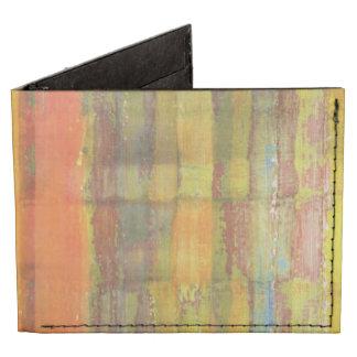 Green Striped Pattern Tyvek® Billfold Wallet