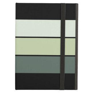Green Stripes Case For iPad Air