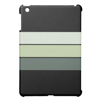 Green Stripes Case For The iPad Mini