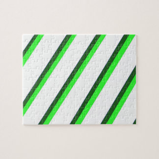 Green Stripes Difficult Puzzle