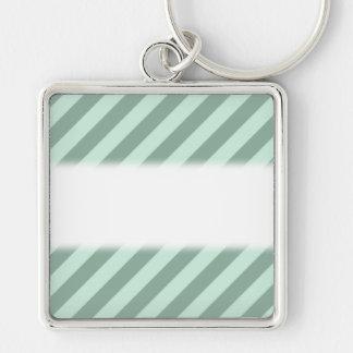 Green Stripes. Keychain