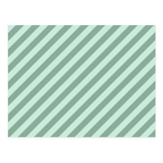 Green Stripes. Postcard