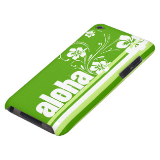 Green Stripes; Striped; Aloha iPod Case-Mate Cases