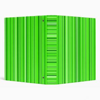 Green Strips Binders