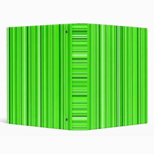 Green Strips Binder