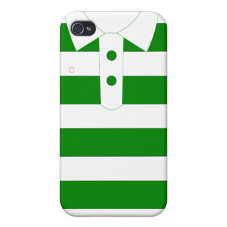 Green strips Tshirt for iPhone Cases For iPhone 4