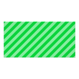 Green Stripy Pattern. Card