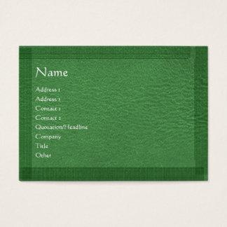 Green Stylish Border n Surface Business Card