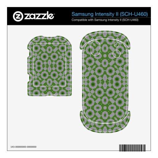 Green Stylish modern Pattern Samsung Intensity Decals