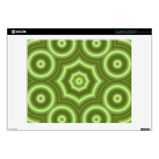 "Green Stylish pattern 14"" Laptop Decals"