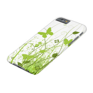 Green Summer Garden Barely There iPhone 6 Case
