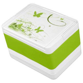 Green Summer Garden Igloo Cooler