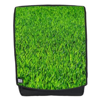 Green Summer Grass Texture Backpack