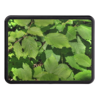 Green Summer Leaves Hitch Cover