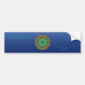 Green Sun Bumper Sticker