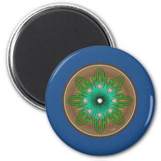 Green Sun Magnet