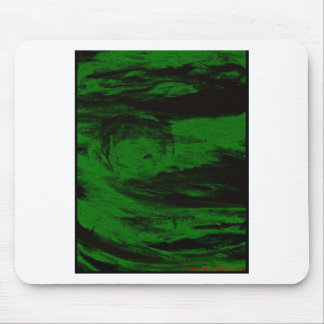 Green Sun Rises(or sets) Mouse Pad