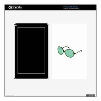 green sunglasses beach wear.png kindle fire skins