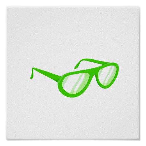 green sunglasses reflection.png print