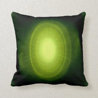 Green sunlight 5 pillow