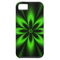 Green Super Floral Starbursts iPhone 5 Case