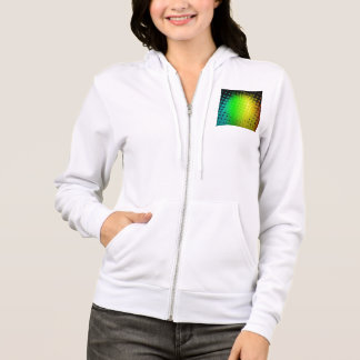 Green Super Hero Sunburst Hoodie