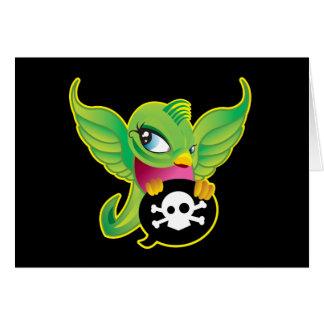 Green Swallow Card