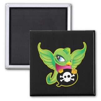 Green Swallow Magnet