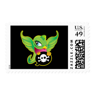 Green Swallow Postage Stamp