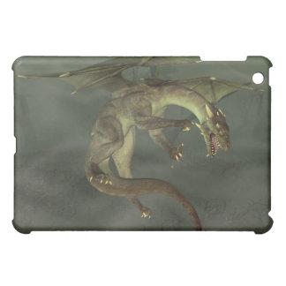 Green Swamp Dragon iPad Mini Covers