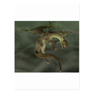 Green Swamp Dragon Postcard