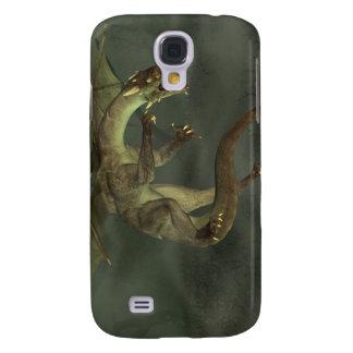 Green Swamp Dragon Samsung Galaxy S4 Covers