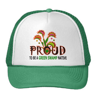 Green Swamp Native Truckers' Cap Hat
