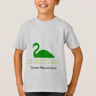 Green Swan at Swansea Pond T-Shirt