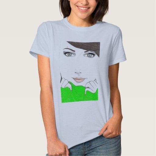 green sweater t-shirt