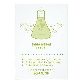 Green Sweet Chemistry Response Card