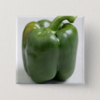Green sweet pepper For use in USA only.) Pinback Button
