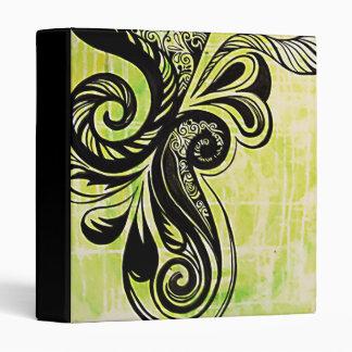 Green Swirl Binder